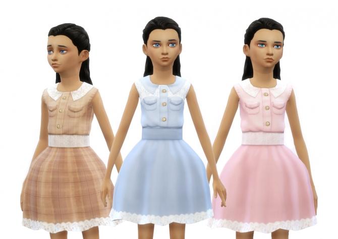 Lace dress at Dani Paradise image 2402 Sims 4 Updates