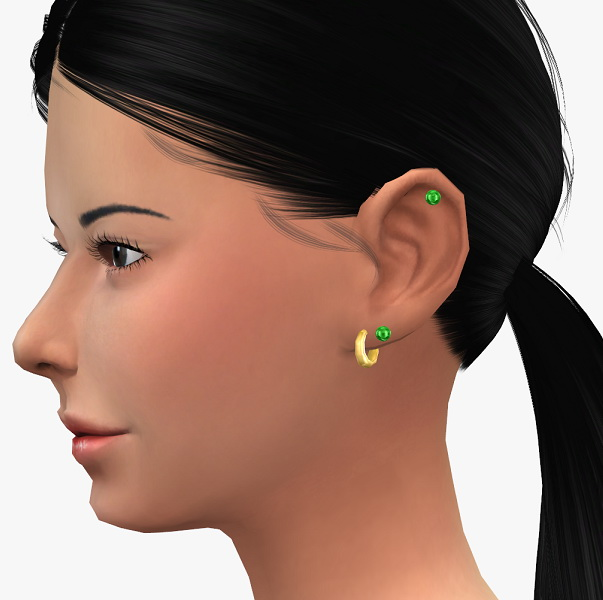 Left earrings set at 19 Sims 4 Blog image 24111 Sims 4 Updates