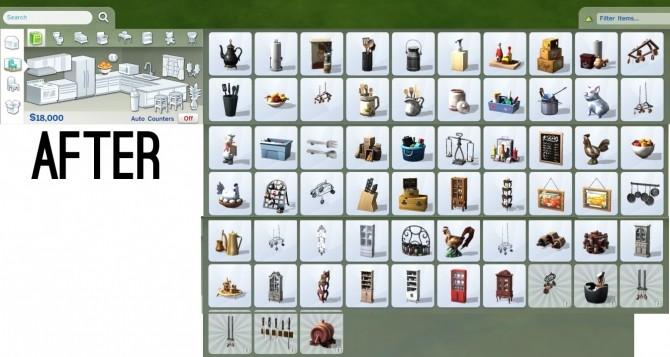 Sims 4 Reorganized Catalog at Fake Houses Real Awesome