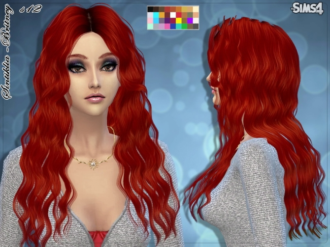 Hair s12 Britney by Sintiklia at TSR image 2413 Sims 4 Updates
