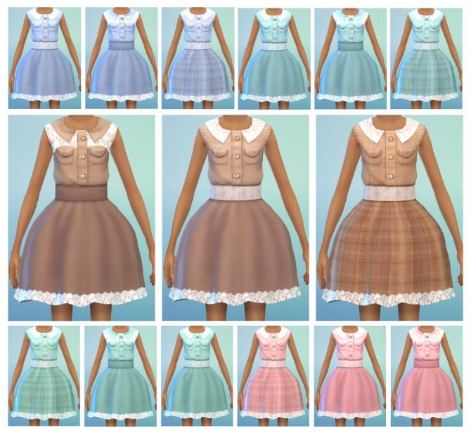 Lace dress at Dani Paradise image 2418 Sims 4 Updates