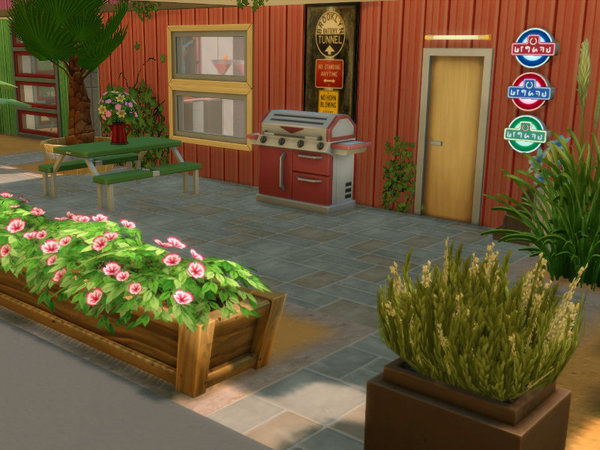 Container Port by Leander Belgraves at TSR image 2419 Sims 4 Updates
