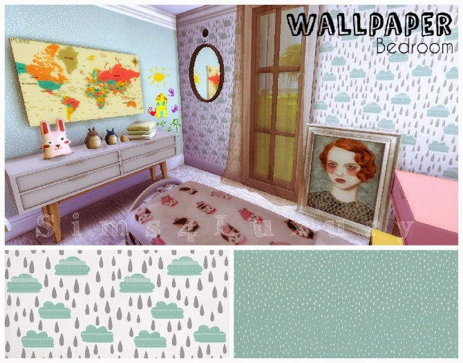 Sims 4 Cloudy wallpapers at Sims4 Luxury