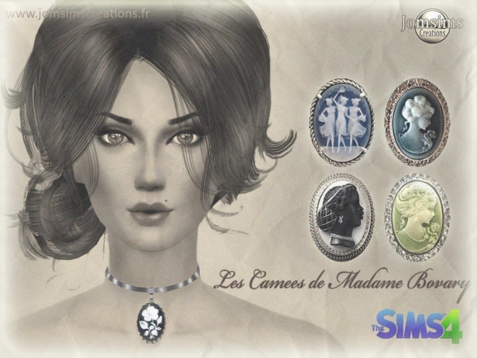 Sims 4 Sailor Moon Crystal, Madame Bovarys Cameo and African Earrings at Jomsims Creations