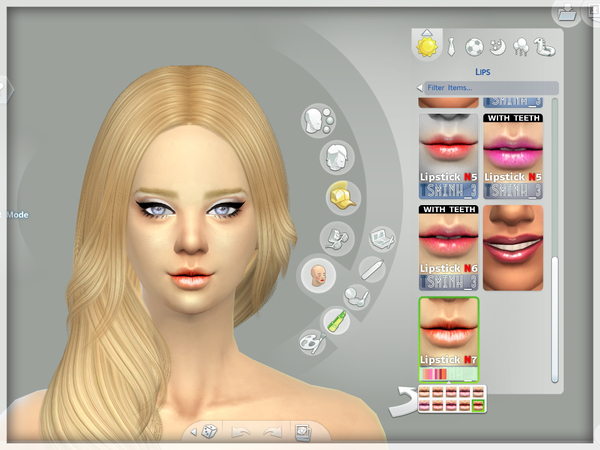 Pure Dry Lipstick by tsminh 3 at TSR image 248 Sims 4 Updates