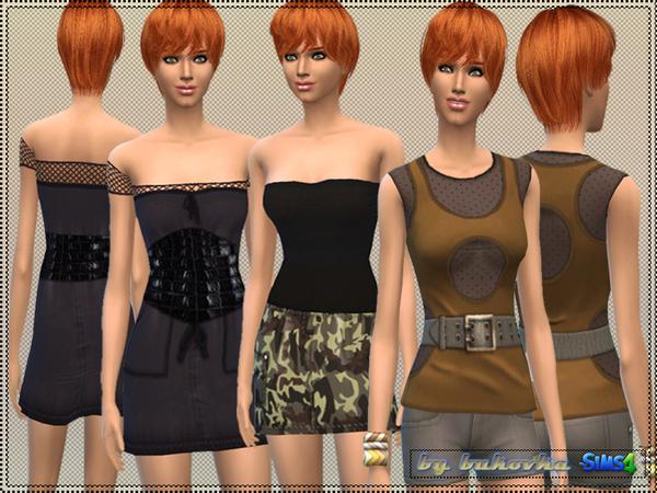 Sims 4 Set Military Style by bukovka at TSR