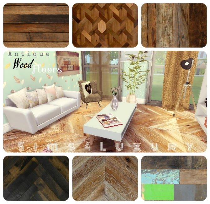 Sims 4 Antique wood floors at Sims4 Luxury