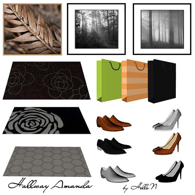 Amanda Hallway by HelleN at Sims Creativ image 25511 Sims 4 Updates