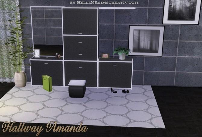 Amanda Hallway by HelleN at Sims Creativ image 25611 670x455 Sims 4 Updates