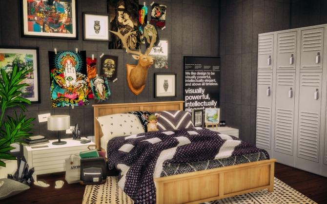 Bedroom Wallpaper Brick