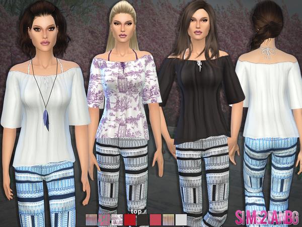 Sims 4 Bohemian set by sims2fanbg at TSR