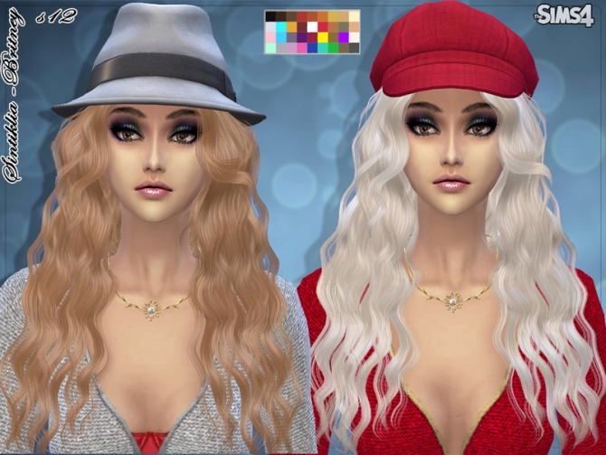 Hair s12 Britney by Sintiklia at TSR image 2610 Sims 4 Updates
