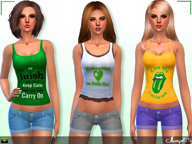 Irish Gal Outfit by Margie at Sims Addictions image 2618 Sims 4 Updates