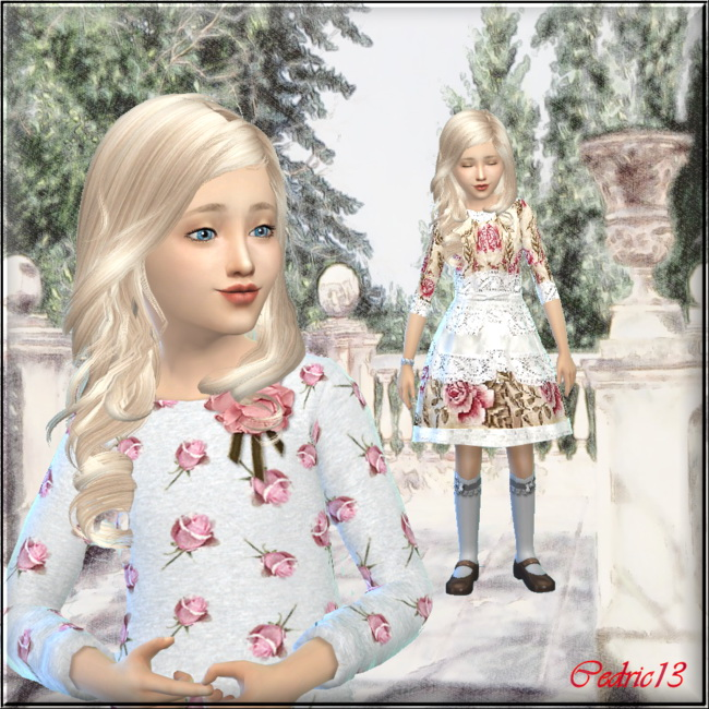 Sims 4 Milly by Cedric13 at L'univers de Nicole