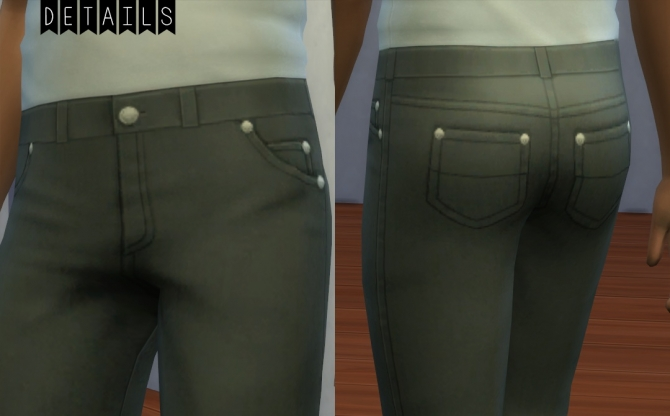 Skinny Jeans for the Dudes at Pixel Folk image 26711 Sims 4 Updates