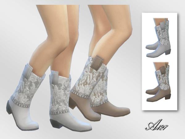 Sims 4 Cowboy boots at Altea127 SimsVogue