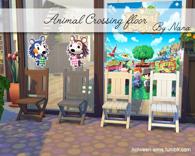 Animal Crossing Outdoor Floor