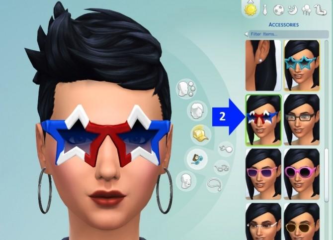 Reys Hair at My Stuff » Sims 4 Updates