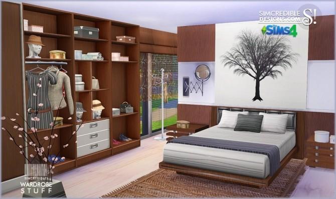 Sims 4 Wardrobe stuff at SIMcredible! Designs 4