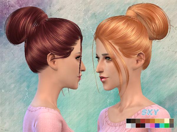 Sims 4 Hair 111 by Skysims at TSR