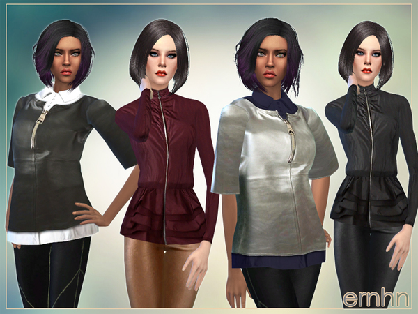Sims 4 Female Outerwear Set by ernhn at TSR