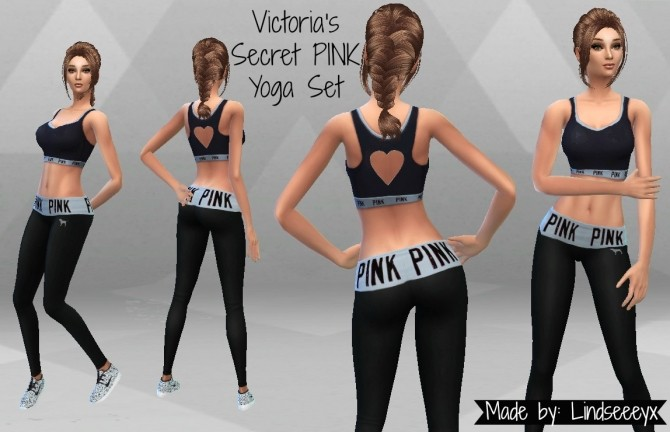 PINK Yoga Set by lindseeeyx at Mod The Sims image 2991 670x432 Sims 4 Updates