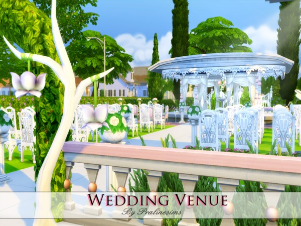 Wedding Venue by Pralinesims at TSR » Sims 4 Updates