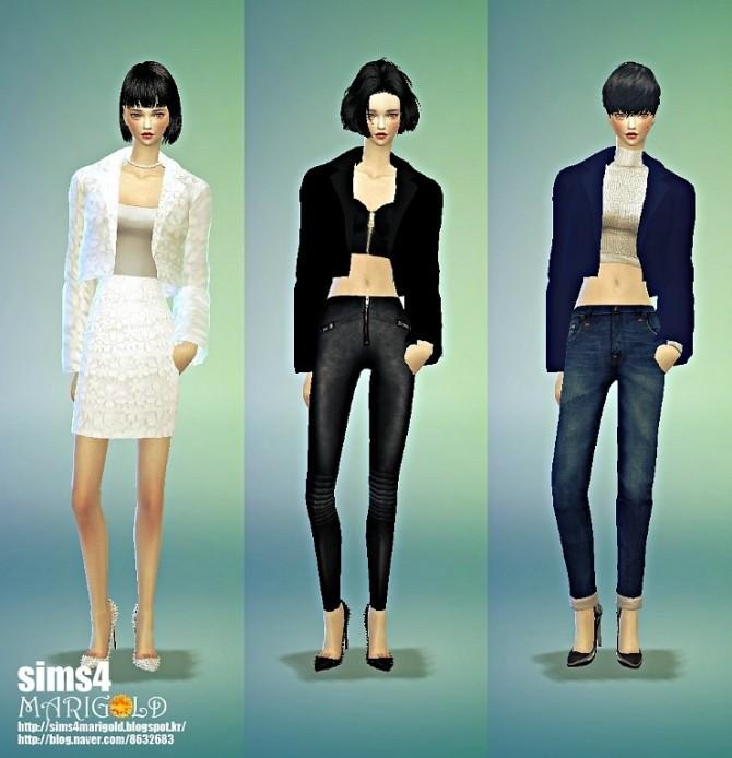 Sims 4 Short jacket acc. at Marigold