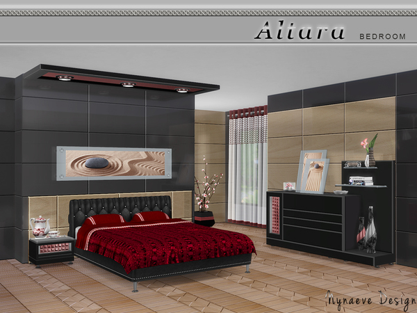 Altara Bedroom by NynaeveDesign at TSR image 302 Sims 4 Updates