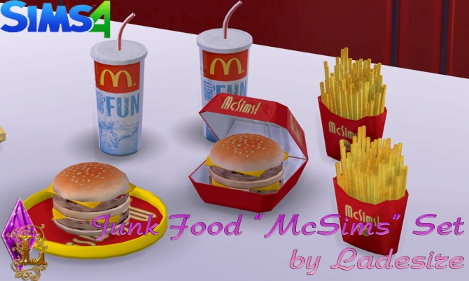 Sims  Fast Food Download