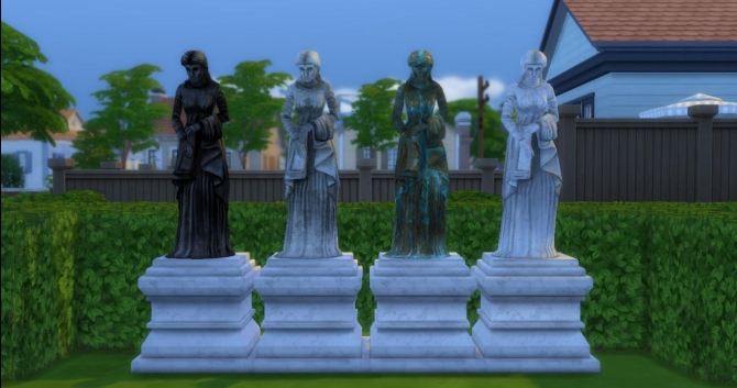 The Sims 2 Sculptures Set By Adonispluto At Mod The Sims