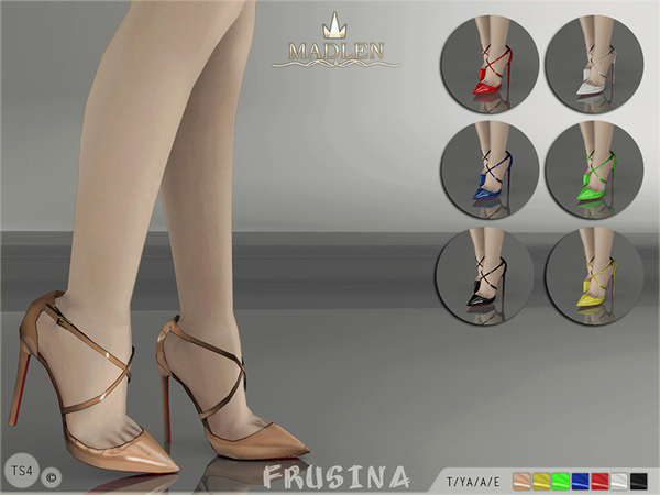 Madlen Frusina Shoes by MJ95 at TSR image 3122 Sims 4 Updates