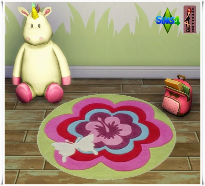 Butterfly Nursery Rugs at Annett's Sims 4 Welt image 3210 Sims 4 Updates