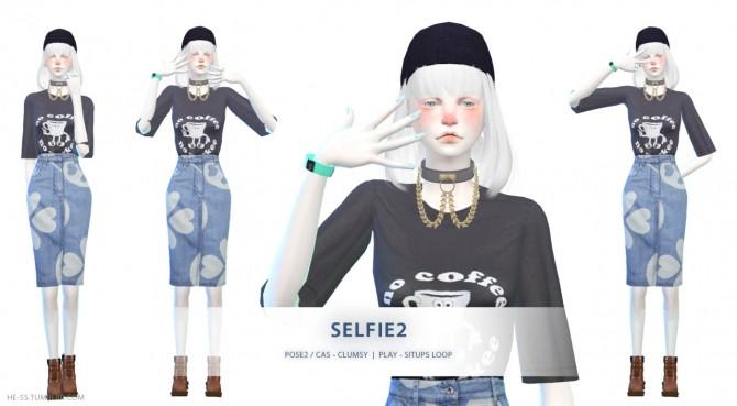 Sims 4 SELFIE CAS & PLAY POSE at HESS