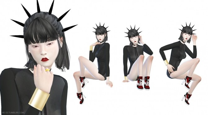 Sims 4 SEAT POSE M,D CAS&PLAY at HESS