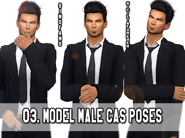 03 Model Male Cas Poses by Siciliaforever at Sims Fans image 3415 Sims 4 Updates