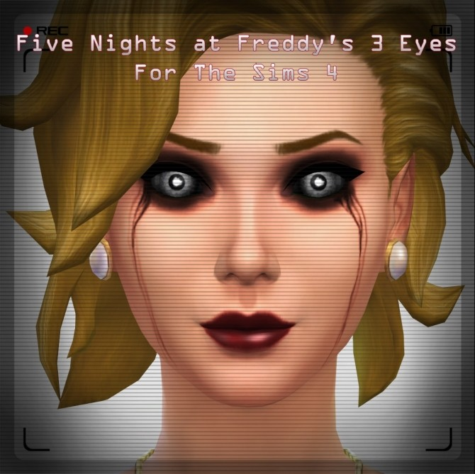 Phantom Springtrap Eye Texture By Kirnolan At Mod The Sims
