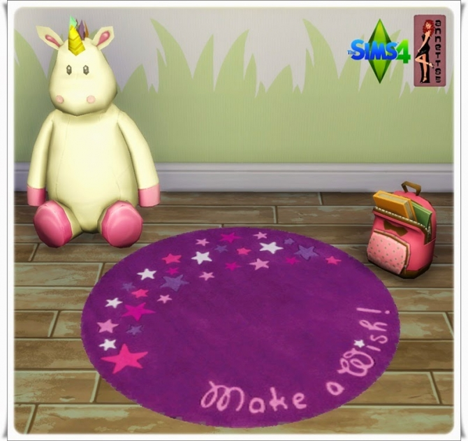 Butterfly Nursery Rugs at Annett's Sims 4 Welt image 349 Sims 4 Updates