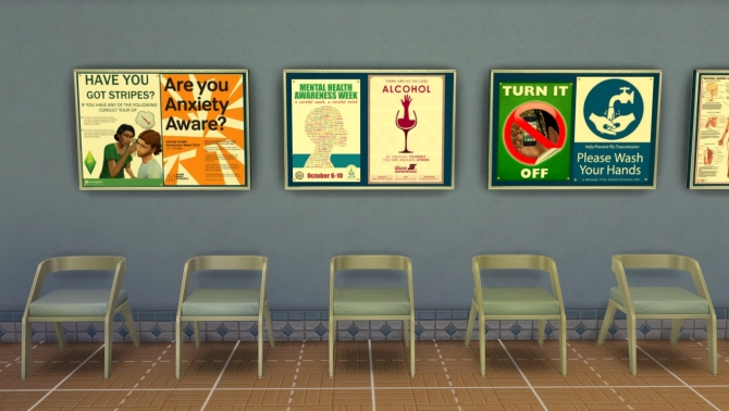 Get to Work Decorative Hospital Wall Clutter by crackfox at