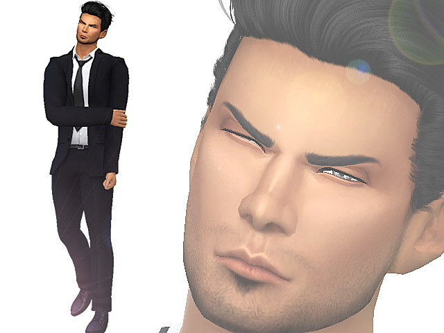 Sims 4 03 Model Male Cas Poses by Siciliaforever at Sims Fans