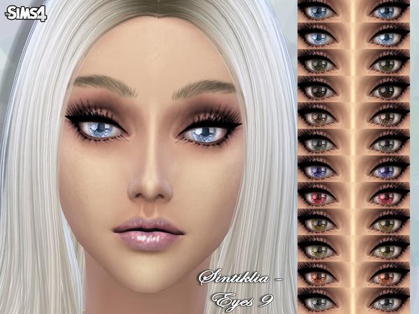 Eyes 9 by SintikliaSims at TSR image 3751 Sims 4 Updates