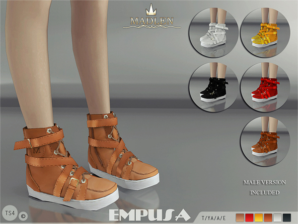 Madlen Empusa Sneakers by MJ95 at TSR image 376 Sims 4 Updates