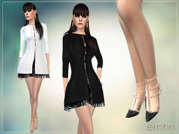 Sims 4 Posh Combination Set by ernhn at TSR