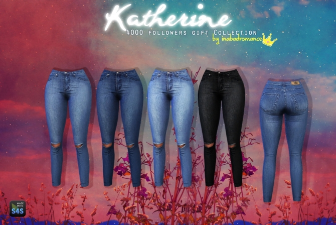 Katherine Tops, Skirts & Jeans at In a bad Romance image 3910 Sims 4 Updates
