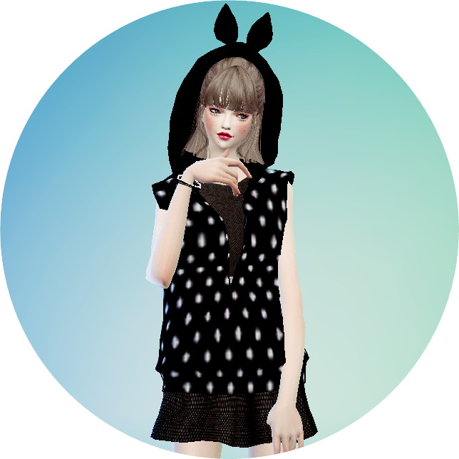Female ears hood vest acc. at Marigold image 41110 Sims 4 Updates