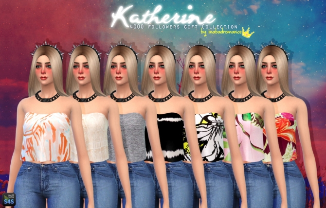 Katherine Tops, Skirts & Jeans at In a bad Romance image 4114 Sims 4 Updates