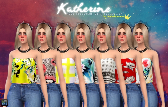 Katherine Tops, Skirts & Jeans at In a bad Romance image 4310 Sims 4 Updates