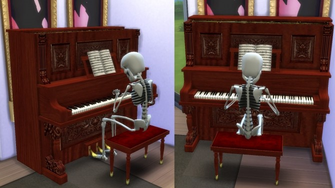 The Sims 2 Upright Saloon Piano by Esmeralda at Mod The Sims image 4319 670x376 Sims 4 Updates