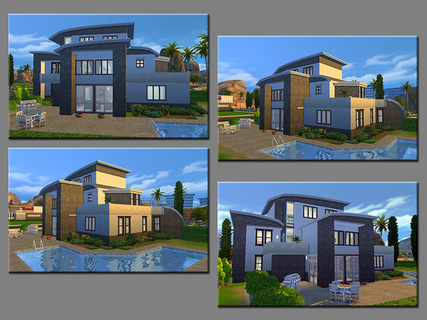 Sims 4 MB Independence of Mind house by matomibotaki at TSR
