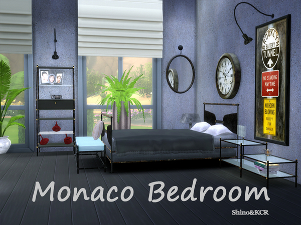 Monaco Bedroom by ShinoKCR at TSR image 44 Sims 4 Updates